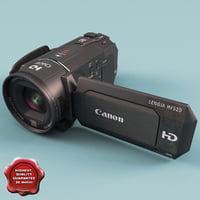 canon vixia hfs30 3d model