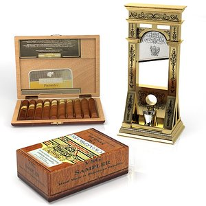max cigar guillotine box