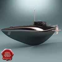 serial submarine drzewiecki 1881 max