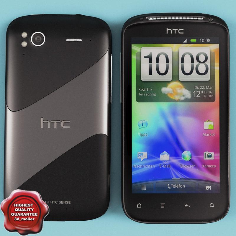 3d htc sensation model