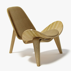 hans wegner shell chair ma