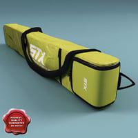 3d model hockey stick bag stx11