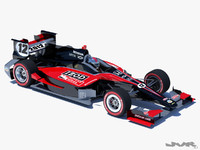 3d concept road course indycar model