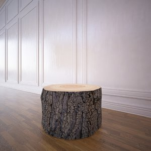tree trunk coffee table max