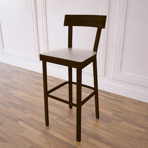 prag stool 3d 3ds