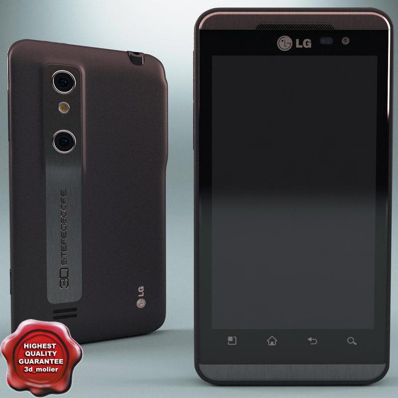 3d lg optimus p920