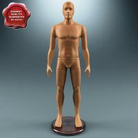 male mannequin v2 3d x