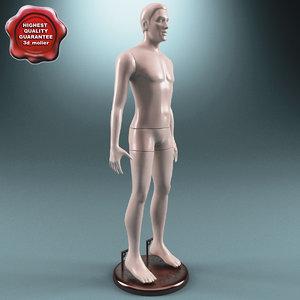 3d male mannequin v4
