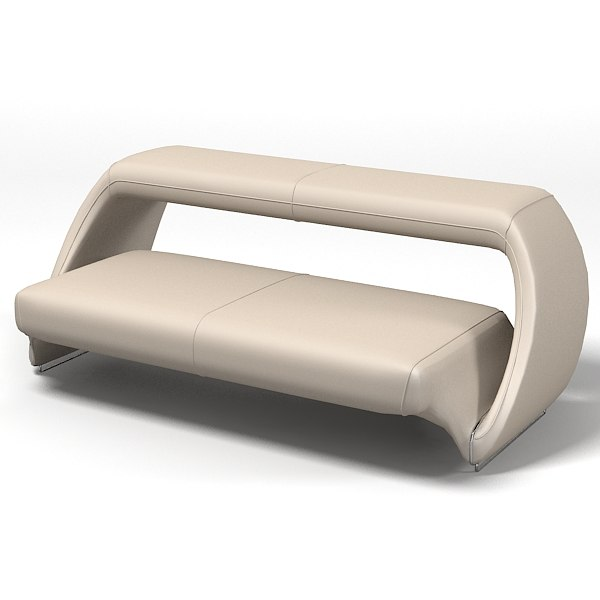 3d meritalia contemporary sofa model