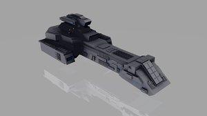 3d prometheus stargate model