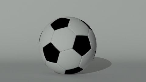 soccerball 3d max