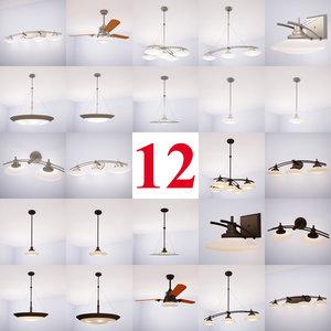 3d kichler structures lighting fixtures model
