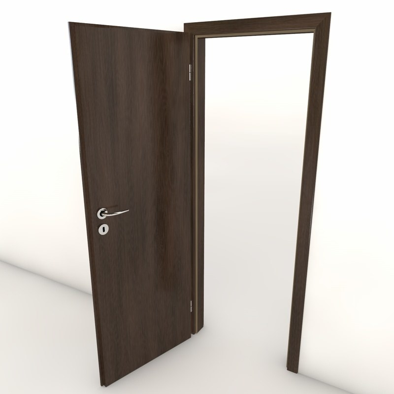 3d model door lighting board