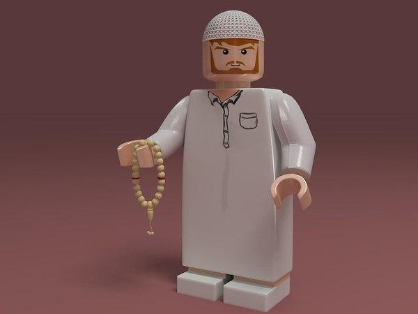 3ds max arab lego