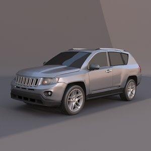 jeep compas 3ds