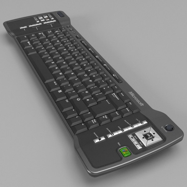 3d model media center keyboard