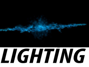 lighting particle flow max
