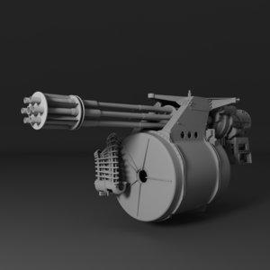3d m61 vulcan