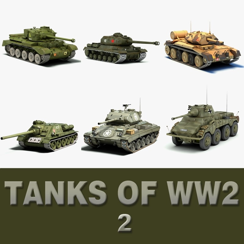 ww2 tanks 2 3d 3ds