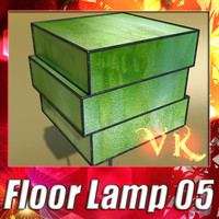 3ds max modern floor lamp 05