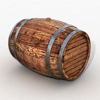 maya barrel modelled