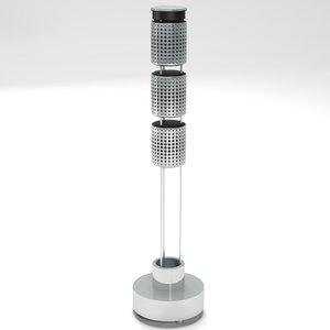 tower speaker 3d model