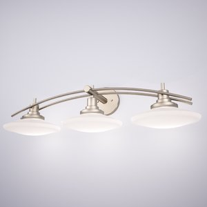 max kichler structures light bathroom