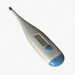 digital thermometer 3d max