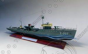 3d 3ds trawler land