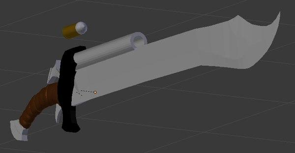 gunblade gun 3ds free