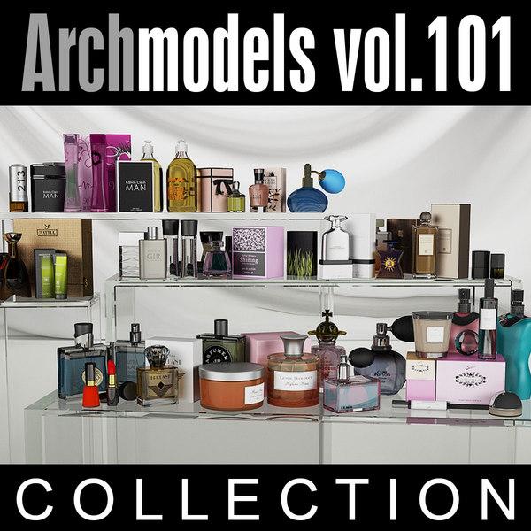 archmodels vol 101 cosmetics 3d obj