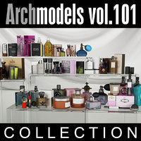archmodels vol 101 cosmetics 3d obj