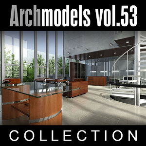 archmodels vol 53 3d 3ds