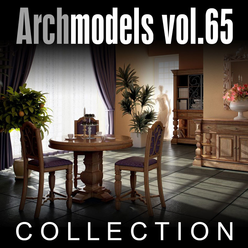 3ds archmodels vol 65