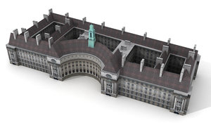 3d model county hall