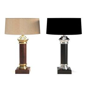 eichholtz lamp newport 3d model