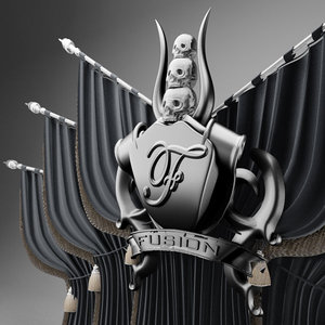 3d model heavy metal stage
