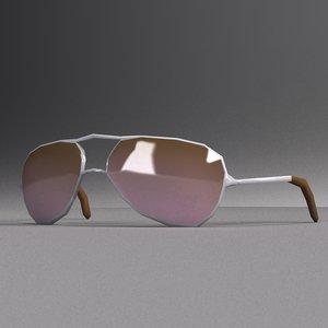 aviator sun glasses 3ds