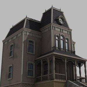 3d model house haunted