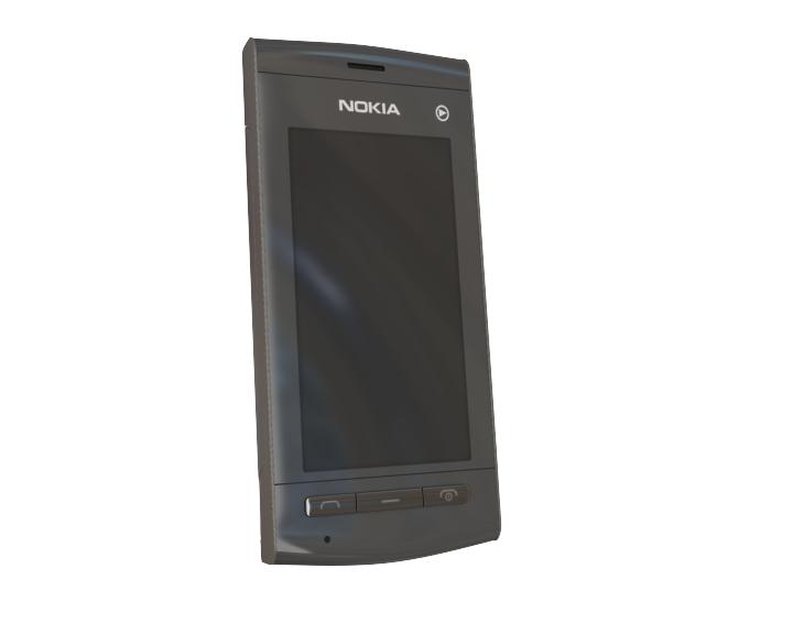 3d nokia 5250 model