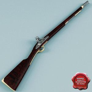 c4d old musket v2
