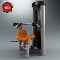 max rotary torso machine