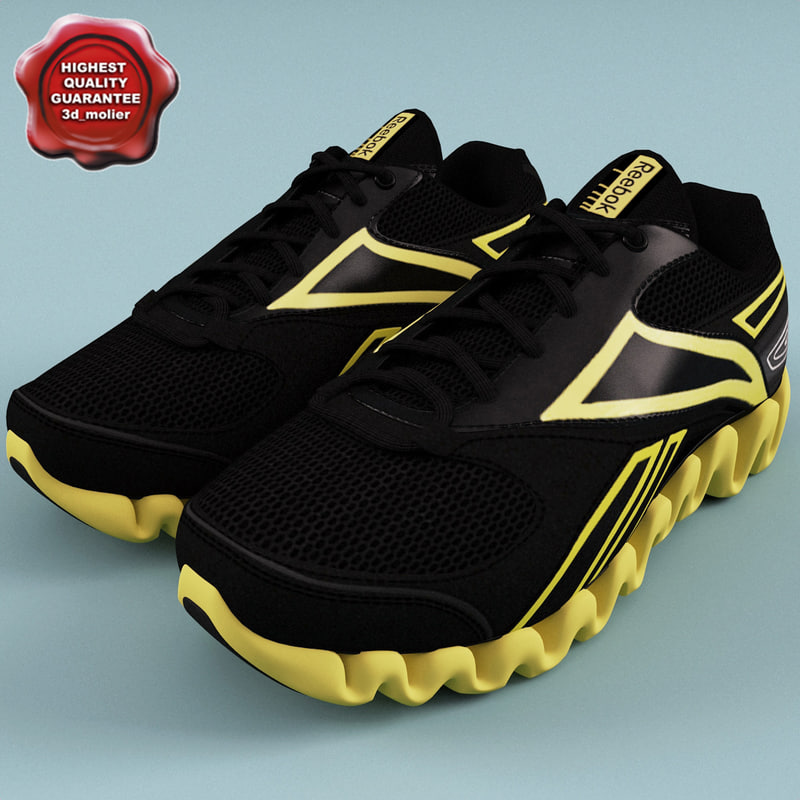 3ds max runing men shoes reebok