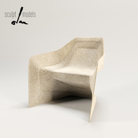 3d model hemp chair