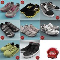 3d sneakers v7 model