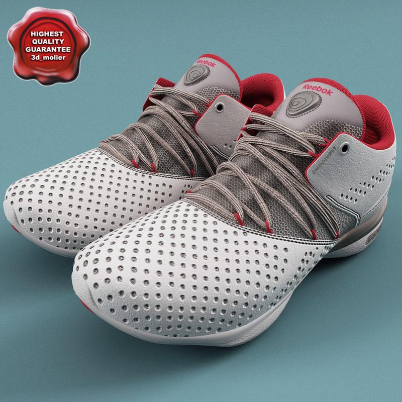 3ds max sneakers reebok easytone v2