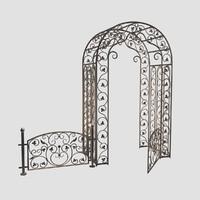 Venetian Arc+Railing