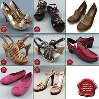 women shoe v5 3d model