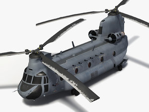 max ch-47 chinook helicopter