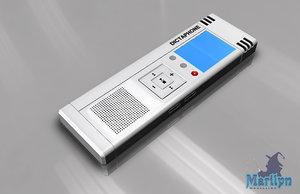 3d dictaphone model